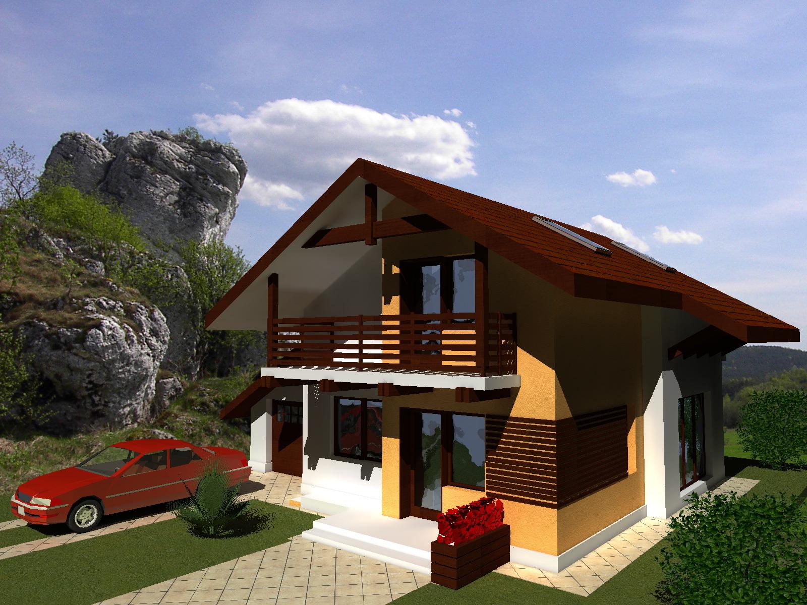 Proiecte case proiecte de case proiect casa proiect de for Case cu mansarda mici